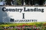 sign for Country Landing I