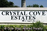 sign for Crystal Cove Estates
